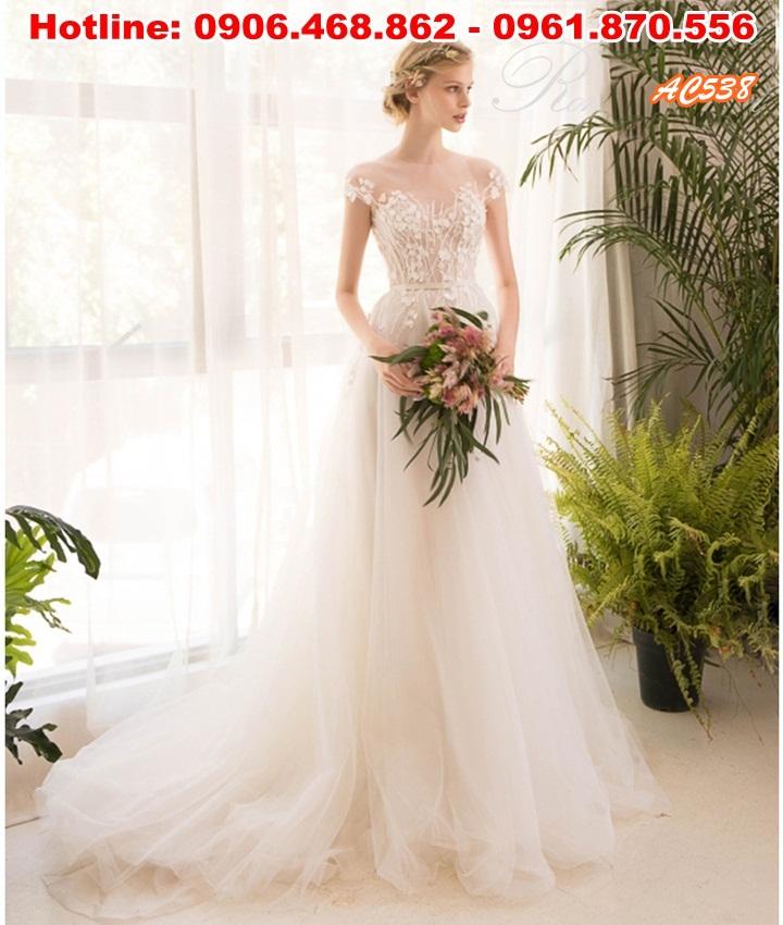2 Bộ sưu tầm áo cưới đẹp, mua áo cưới tại tp hcm