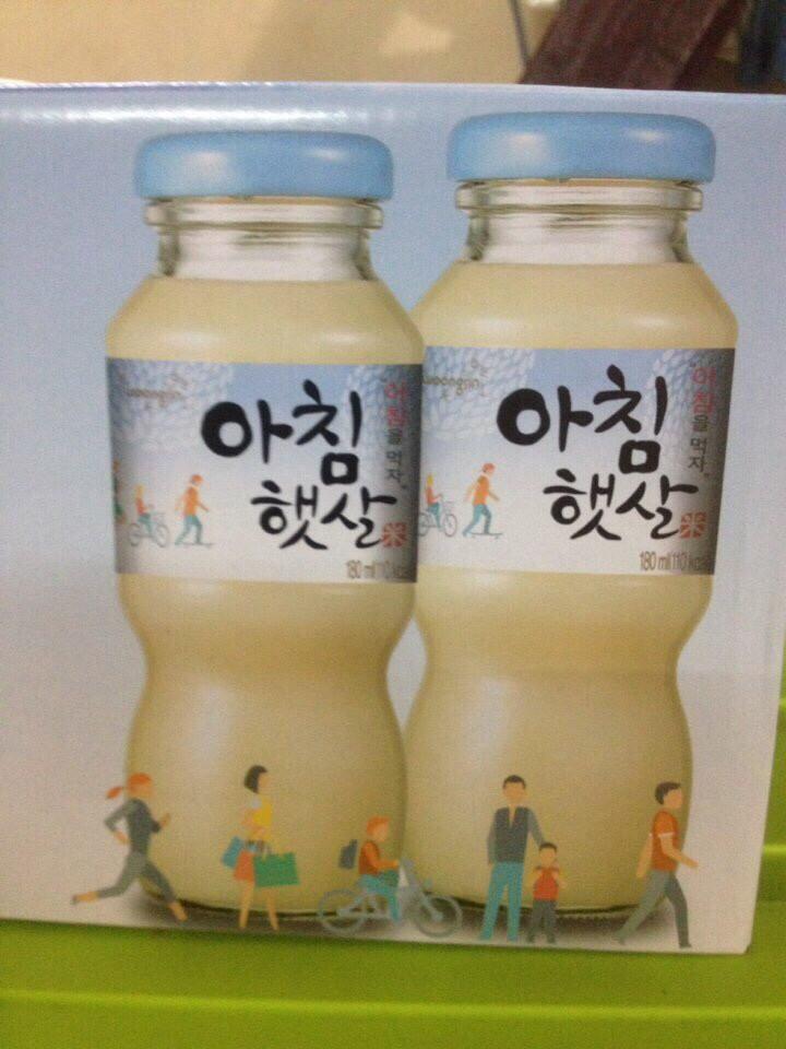 Nước gạo Hàn quốc Woongjin tìm npp,đại lý