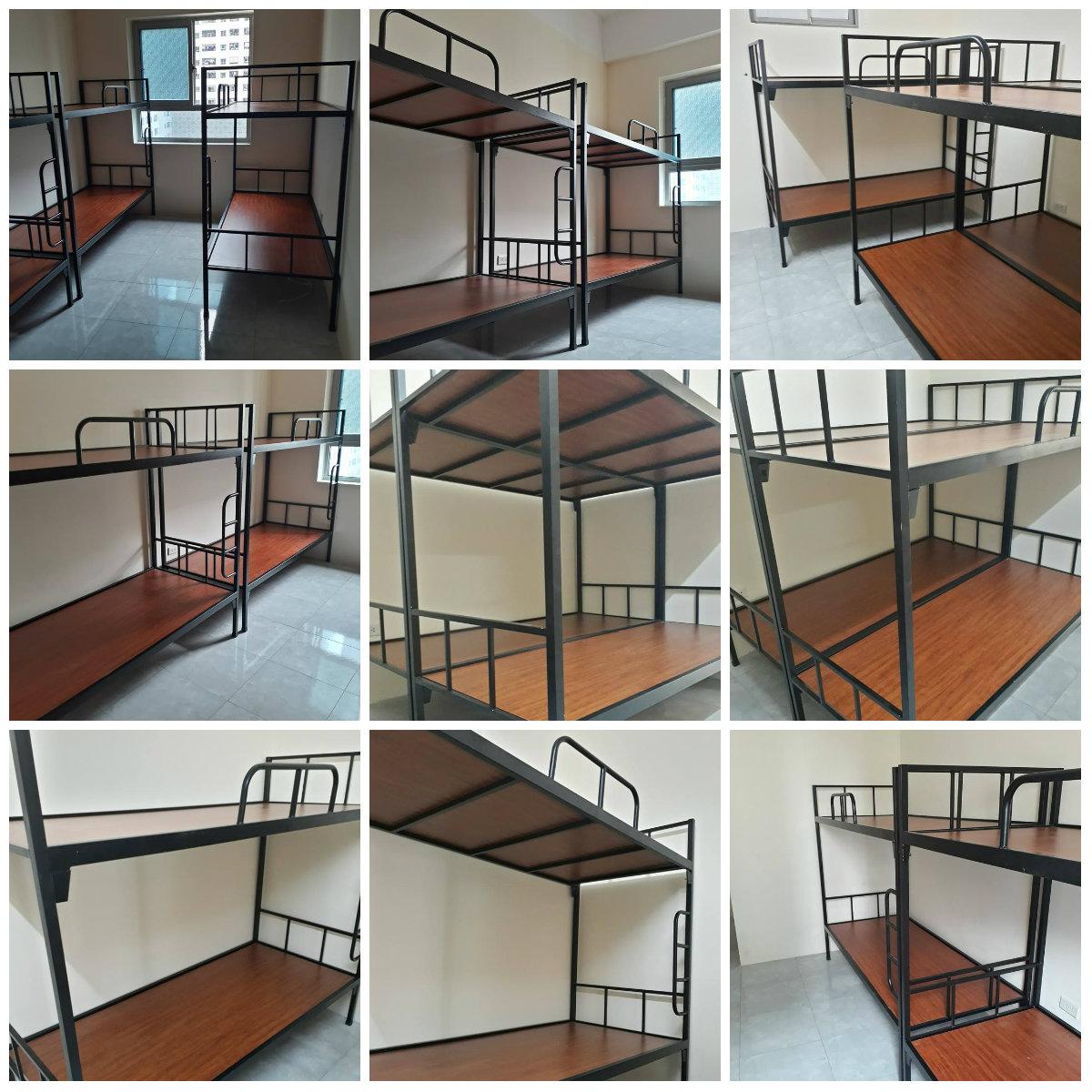 Chuyên sản xuất giường tầng sắt, giường tầng inox trường học,khu lưu trú,nhà ở công nhân viên giá rẻ