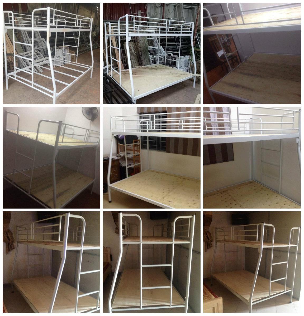 18 Chuyên sản xuất giường tầng sắt, giường tầng inox trường học,khu lưu trú,nhà ở công nhân viên giá rẻ