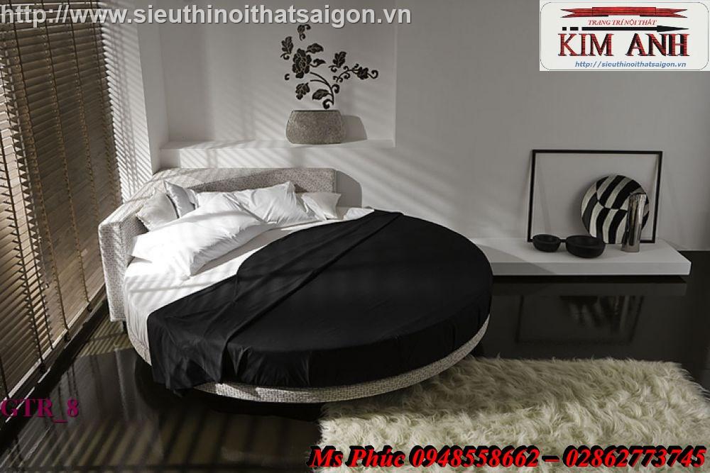 7 Giường tròn sành điệu   giường tròn giá rẻ giảm giá sốc