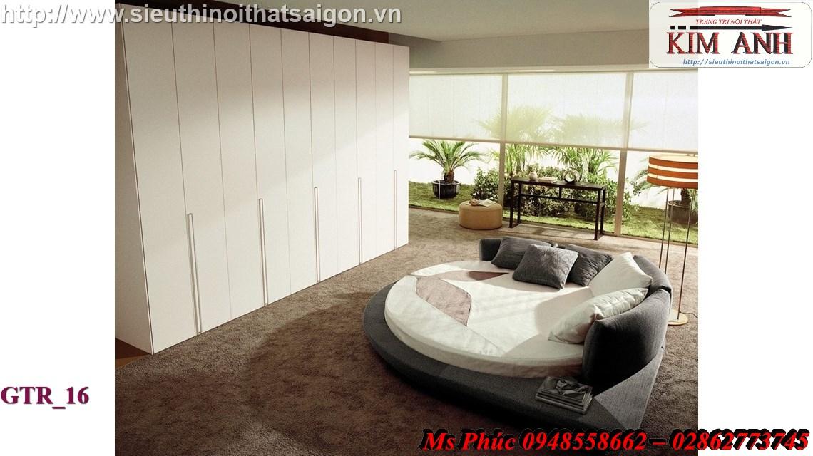 15 Giường tròn sành điệu   giường tròn giá rẻ giảm giá sốc