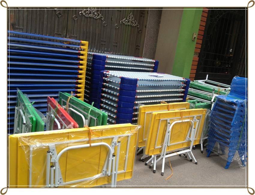3 Bàn ghế nhựa Việt Nam