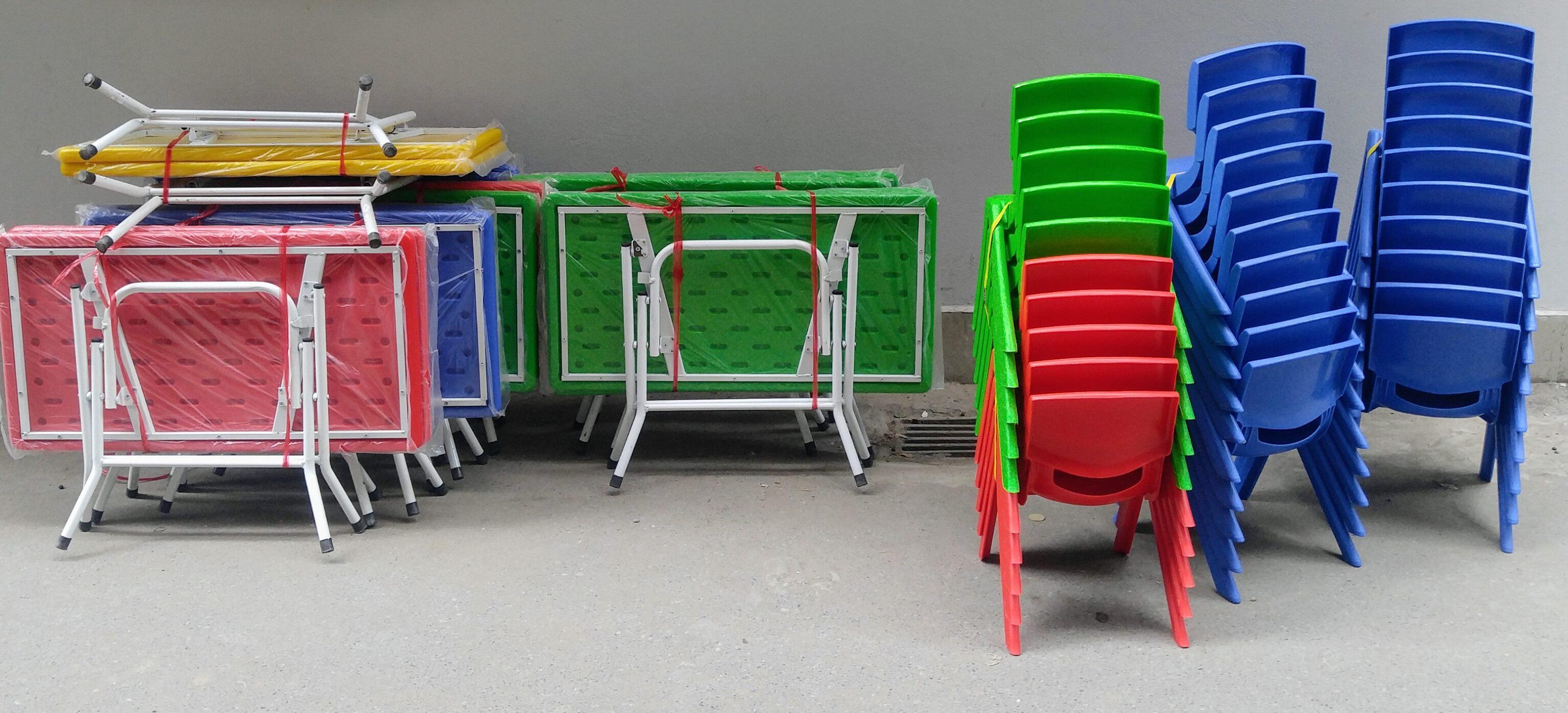 10 Bàn ghế nhựa Việt Nam