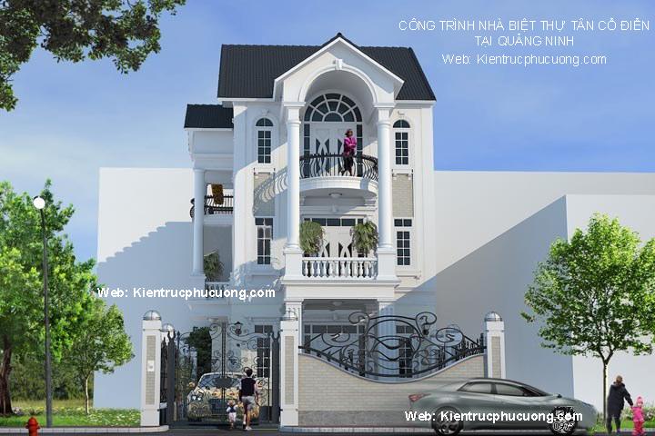 6 Thiết Kế Biệt Thự Đẹp Tại Hà Nội, Thiết Kế Nhà Biệt Thự Giá Rẻ ở Hà Nội