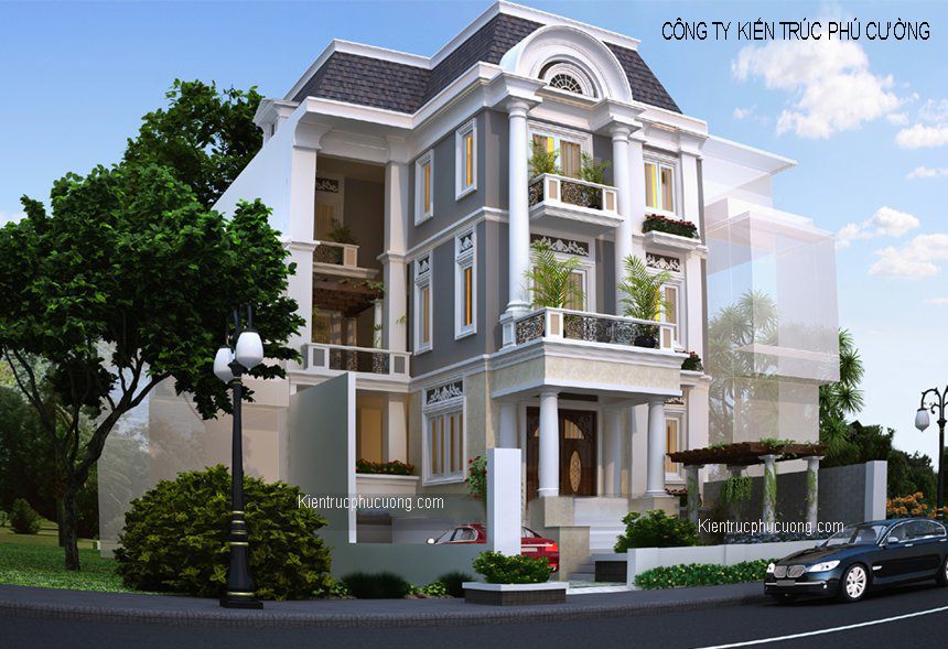 7 Thiết Kế Biệt Thự Đẹp Tại Hà Nội, Thiết Kế Nhà Biệt Thự Giá Rẻ ở Hà Nội