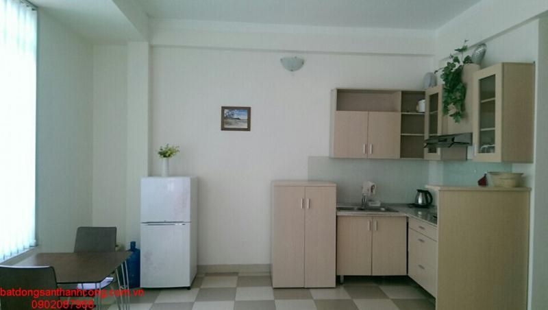 1 Căn hộ cho thuê có thang máy phố Văn Cao 65m đủ đồ giá 8,5 triệu