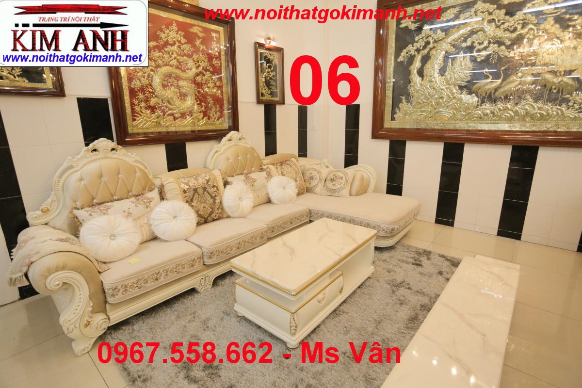 18 Sofa tân cổ điển cao cấp Cần Thơ An Giang - sofa cổ điển