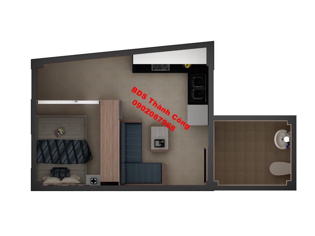 5 Cho thuê chung cư mini khu trung tâm quận Hoàn Kiếm gần viện 108 ,Nhà Hát Lớn phố cổ giá 4 triệu