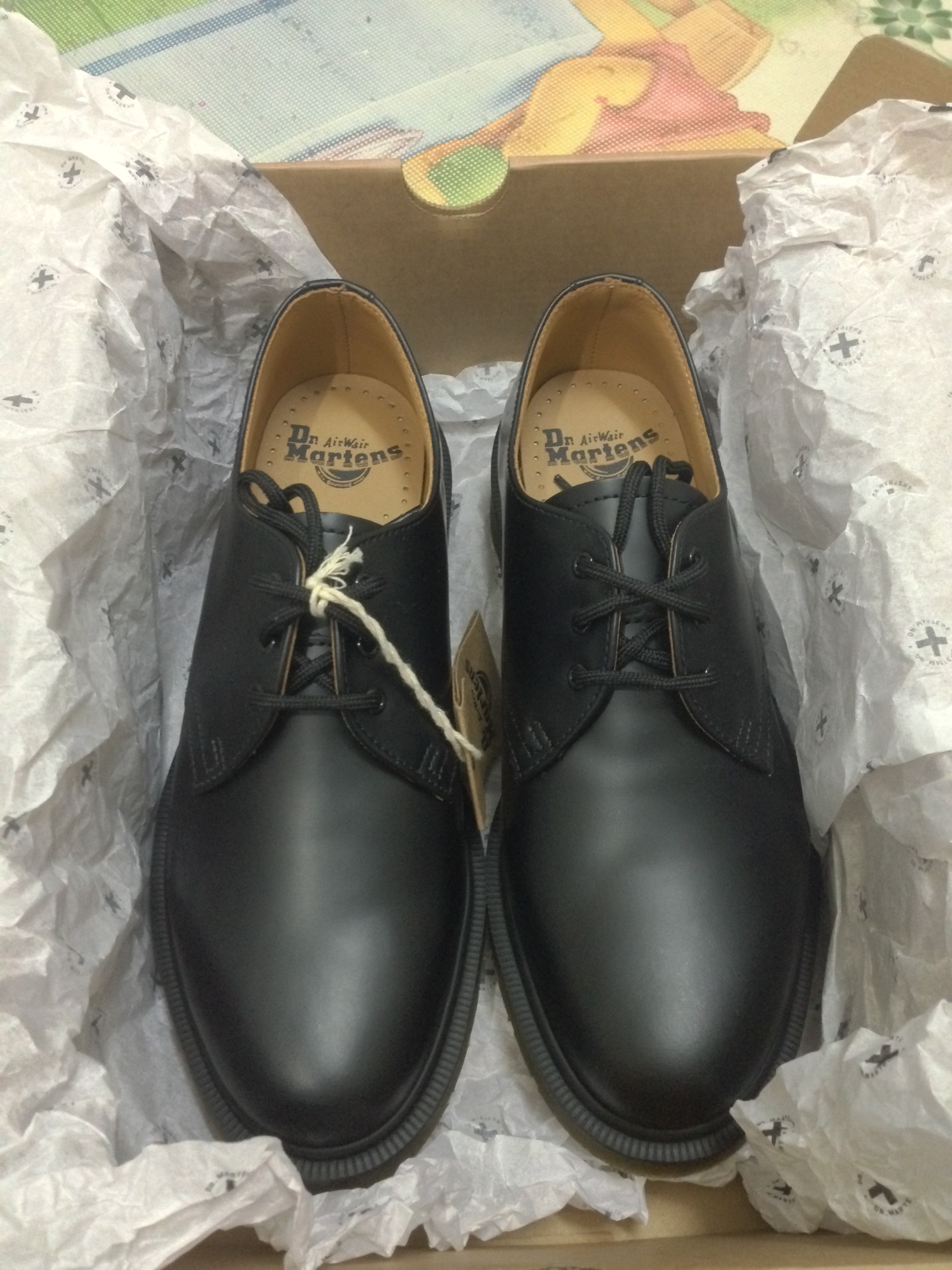 1 Dr Martens 1461 PW Smooth Black
