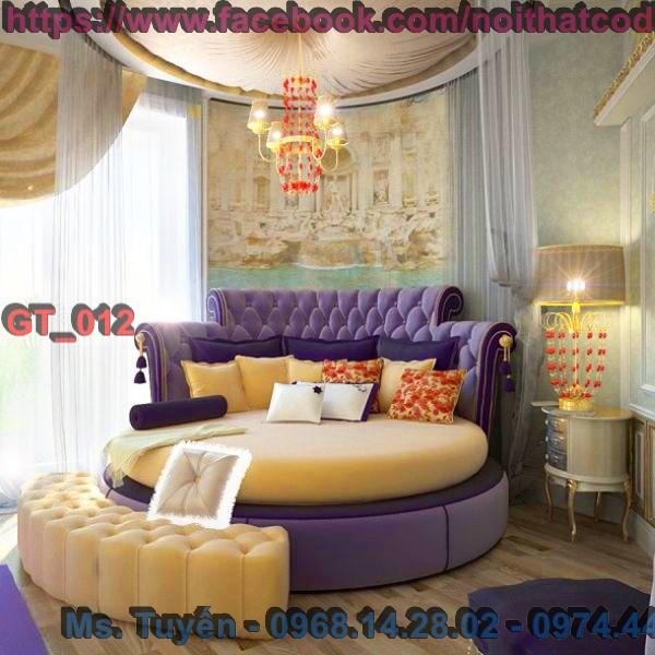 5 Giường tròn mua ở đâu đẹp mà giá thấp nhất tại tphcm , giường tròn giá rẻ tại Hà Nội ,