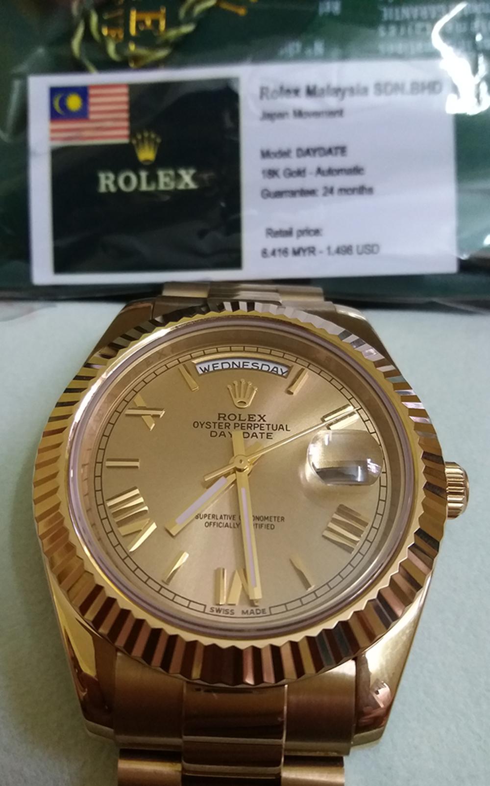 Rolex Malaysia, Omega, Tissot Thụy Sỹ fullbox 917USD giảm còn 255USD - 6