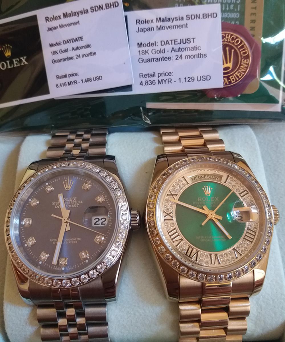 Rolex Malaysia, Omega, Tissot Thụy Sỹ fullbox 917USD giảm còn 255USD - 8