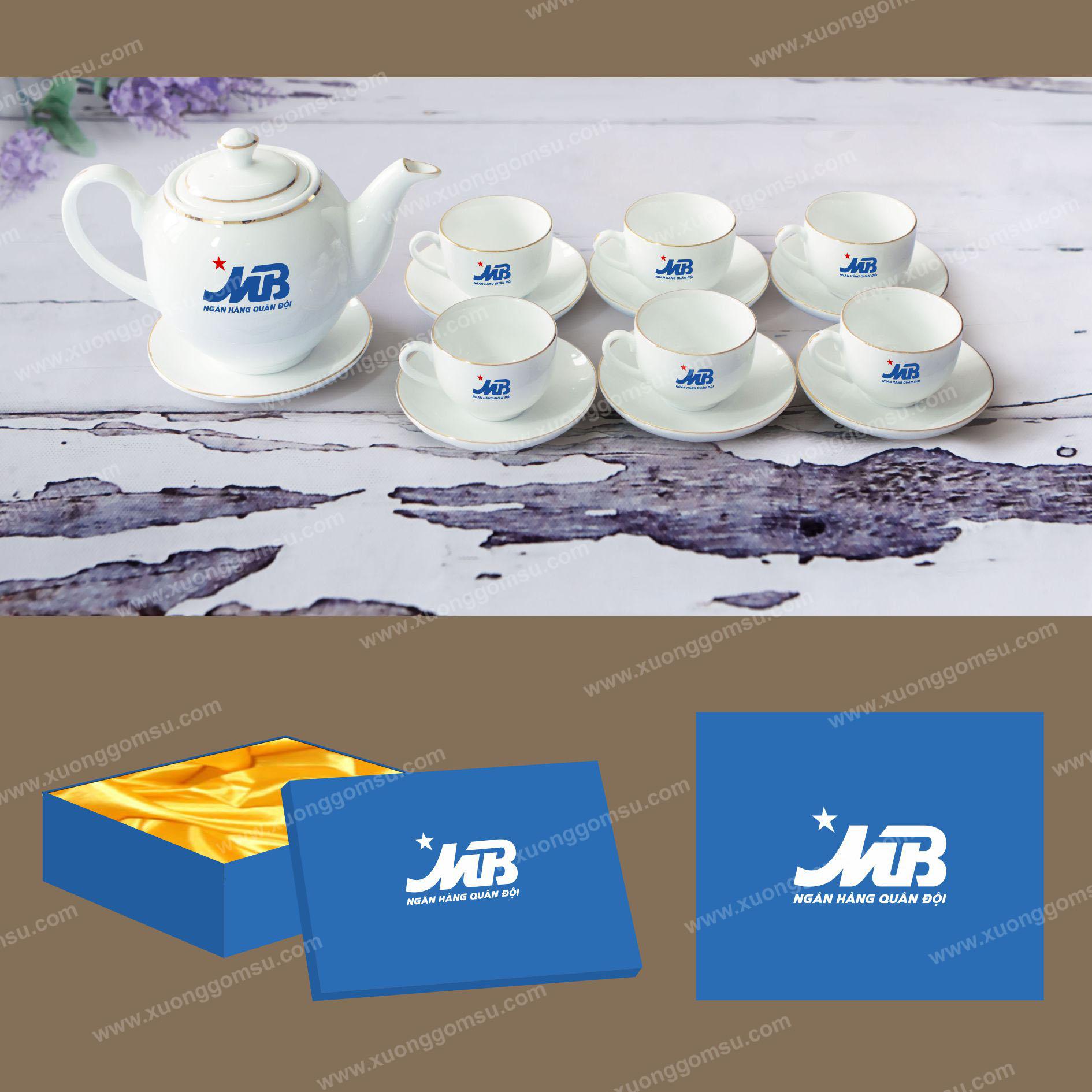 2 Bộ ấm trà giá rẻ tại TPHCM - In ấm trà theo yêu cầu tại TPHCM - Liên hệ: 0905 780 166