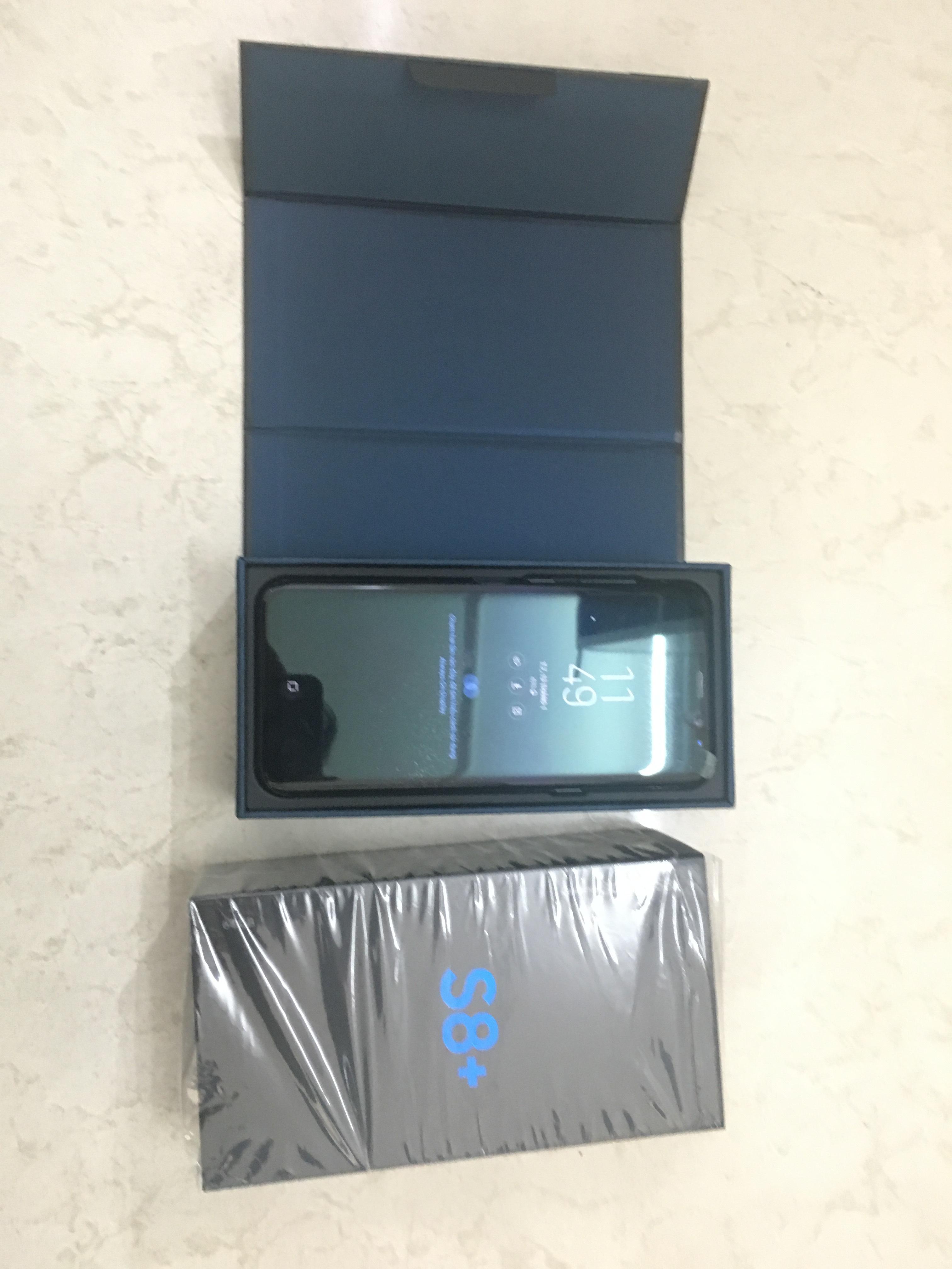 1 Bán Samsung Galaxy s8 plus màu đen chính hãng mới