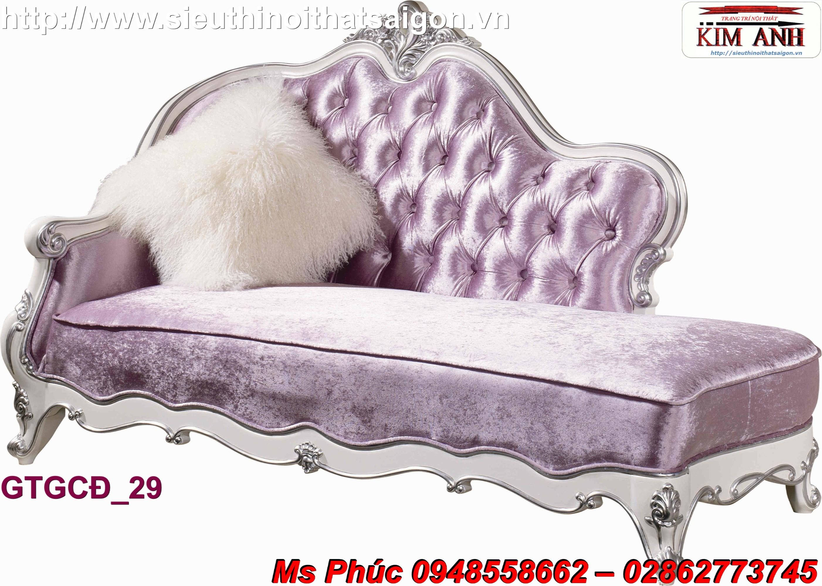 1 Ghế lười hali kiểu cổ điển, êm ái giá tốt nhất thị trường - nội thất Kim Anh Sài Gòn