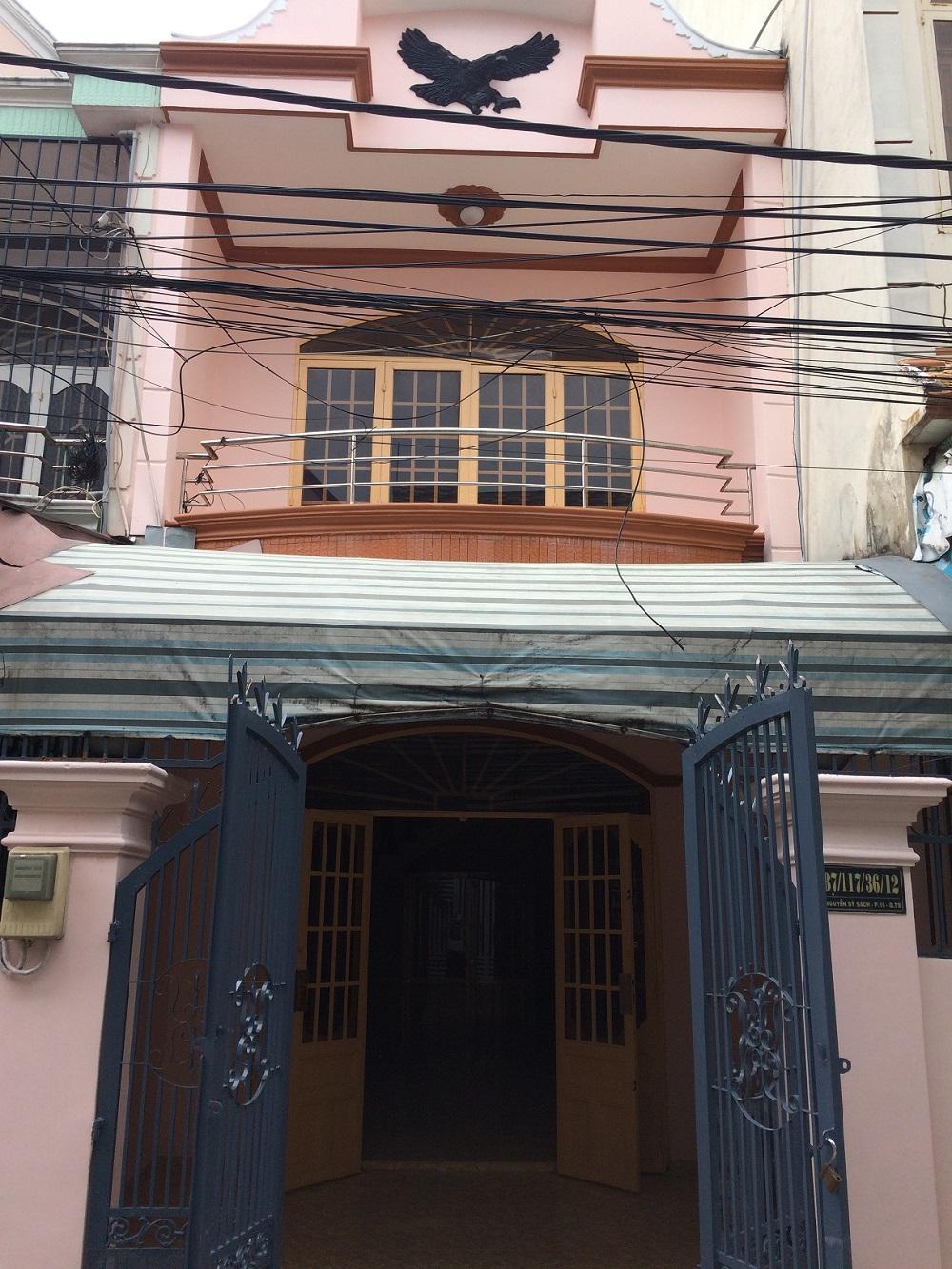 Cho thuê nhà 2 tầng đ.Nguyễn Sỹ Sách,q.TB