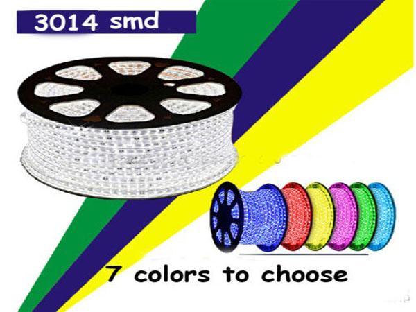 Đèn led dây 3014 220V cuộn 100m loại có 120 mắt led / 1mét dài