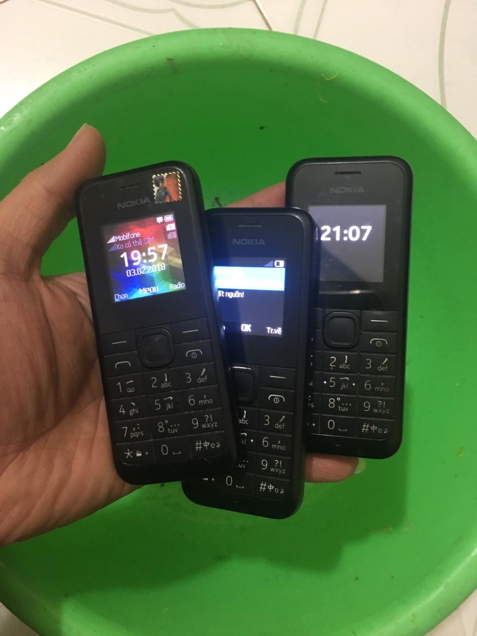 1 Nokia 105 nokia 1202 nokia rm1133 thanh lý cuối năm hết