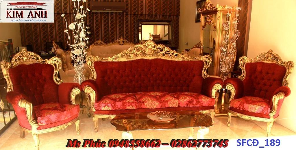 8 Sofa tân cổ điển hoàng gia - đẳng cấp phòng khách của biệt thự, chung cư cao cấp