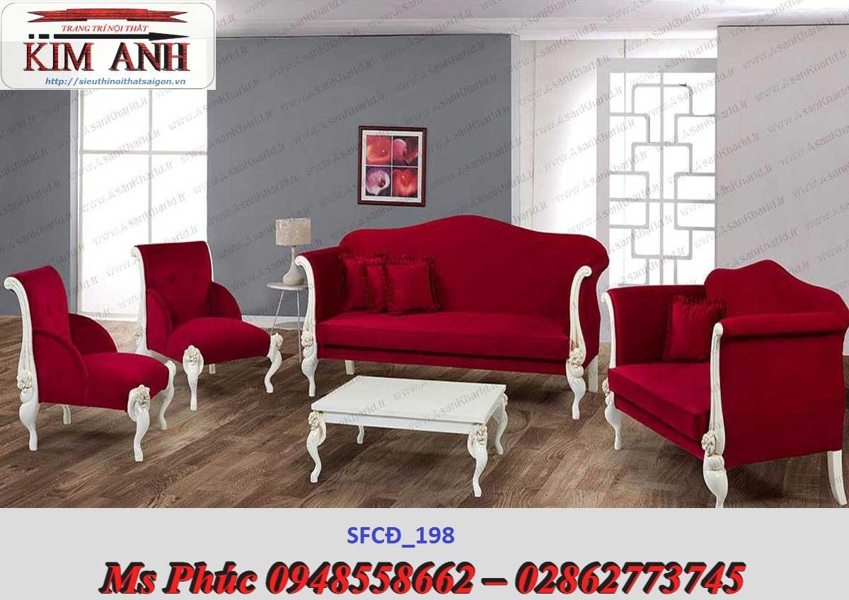 14 Sofa tân cổ điển hoàng gia - đẳng cấp phòng khách của biệt thự, chung cư cao cấp