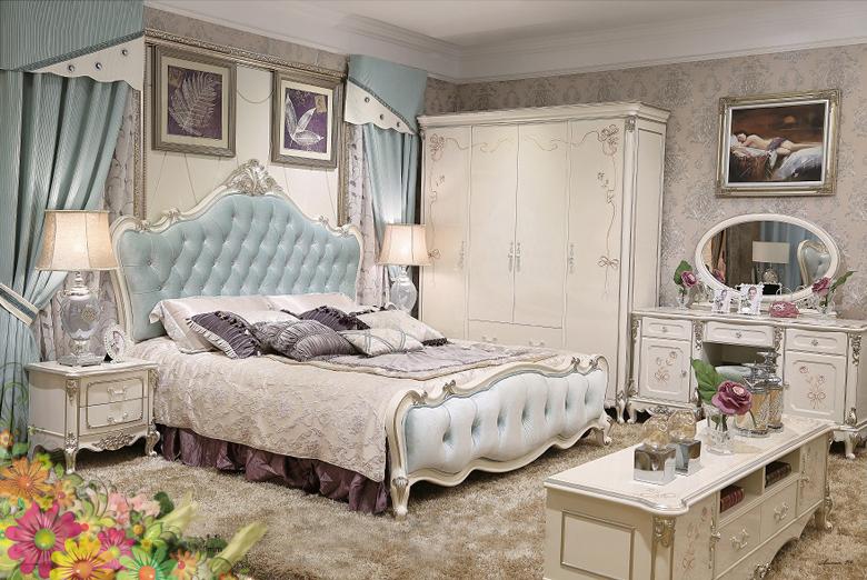 4 Giường cổ điển - giường ngủ tân cổ điển q1 q2 q7 q9