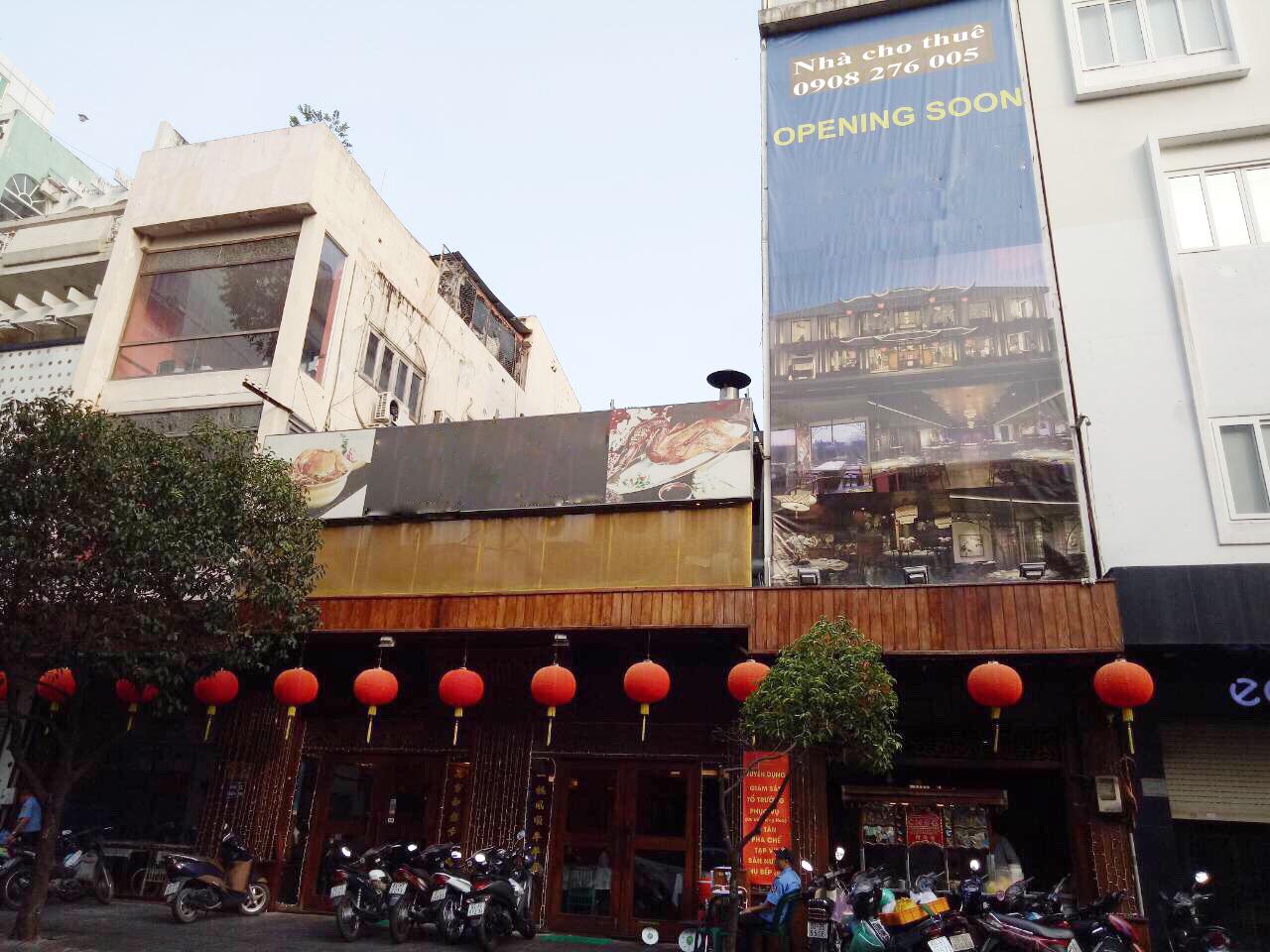 Siêu hot .Nhà cho thuê MT Nguyễn Trãi, Quận 1, gần Zen Plaza  DT 8x20m. Giá thương lương