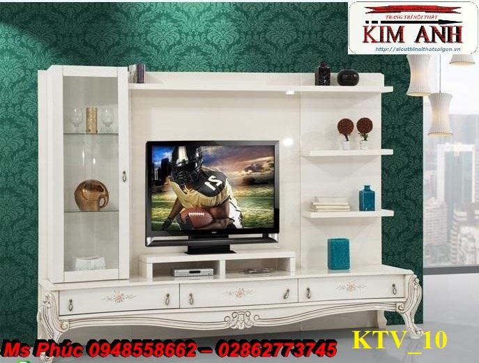 3 Kệ tủ tivi cổ điển đơn giản giá rẻ tphcm   giá kệ tivi nhập khẩu hà nội, tphcm