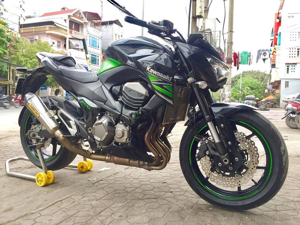 6 Bán Kawasaki Z 800 ABS xanh đen Hải quan chính ngạch