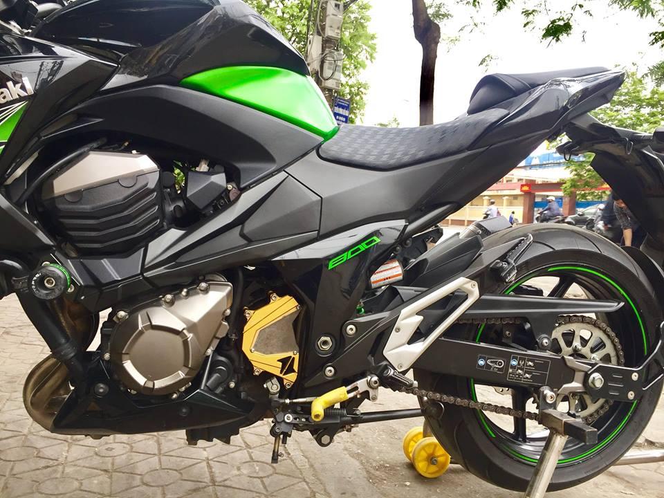 12 Bán Kawasaki Z 800 ABS xanh đen Hải quan chính ngạch