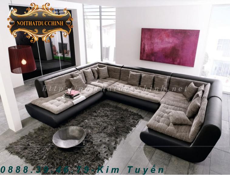 3 Sofa phòng khách   Sofa phòng khách chữ L giá rẻ tại Tiền Giang, Đồng Tháp