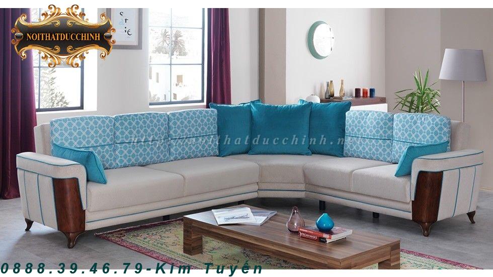 5 Sofa phòng khách   Sofa phòng khách chữ L giá rẻ tại Tiền Giang, Đồng Tháp