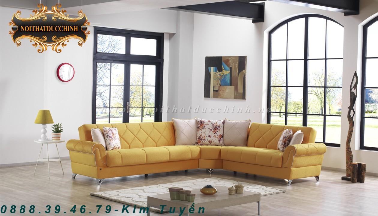 8 Sofa phòng khách   Sofa phòng khách chữ L giá rẻ tại Tiền Giang, Đồng Tháp