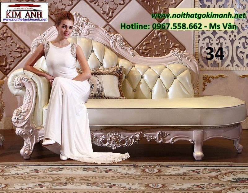 1 Ghế Thư Giãn Châu Âu   Mua Sofa Trang Trí Cổ Điển Đẹp Giá Sốc Tại Xưởng