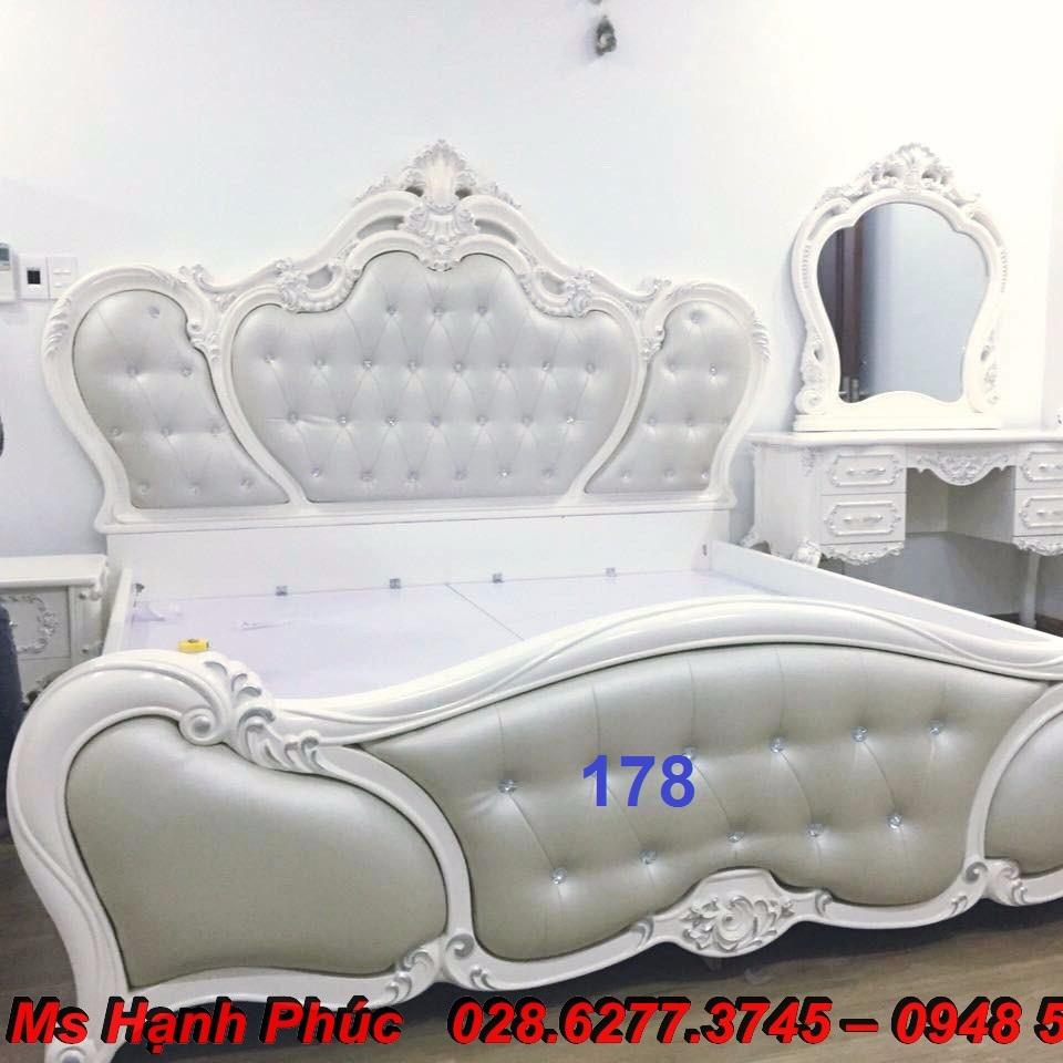 15 Top 10 mẫu giường ngủ tân cổ điển nhập khẩu giá rẻ nhưng cực đẹp tại Cần Thơ, An giang, Đà lạt