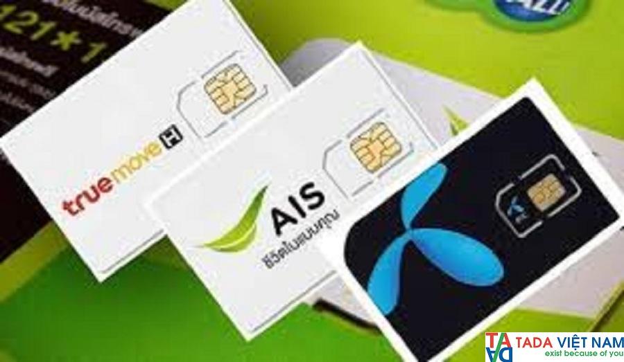 1 Sim 3G-4G du lịch Thái Lan giá rẻ