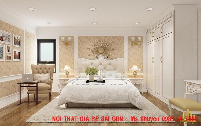 9 Giường ngủ tân cổ điển cao cấp