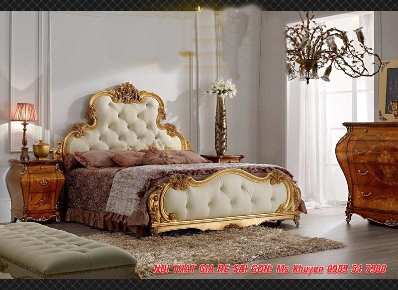 12 Giường ngủ tân cổ điển cao cấp
