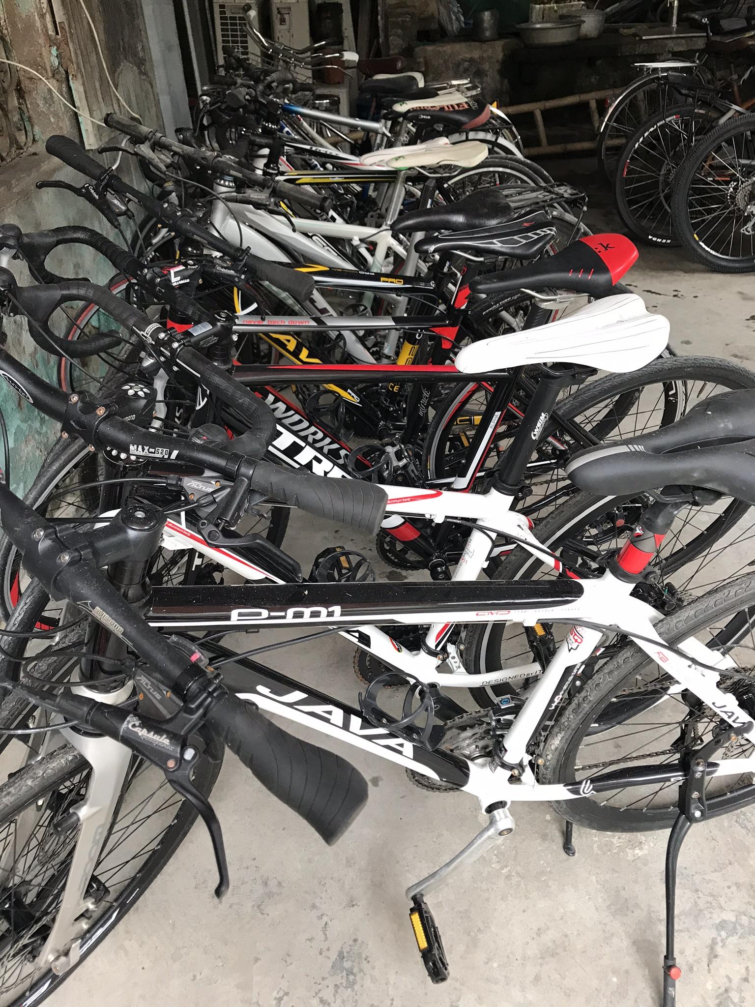 Bán buôn bán lẻ xe đạp thể thao - xe đua - xe đạp điện Nhật bãi.