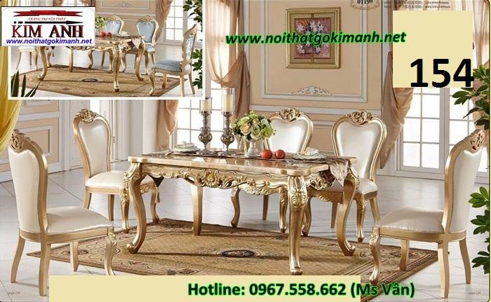 8 Bàn ăn tân cổ điển nhập khẩu giá rẻ bàn ghế phong cách châu đẹp