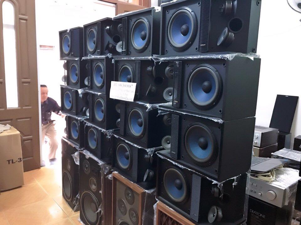 4 Loa Bose 301 monitor seri 2 màng xanh phòng thu đẹp xuất sắc mới về Thắng audio