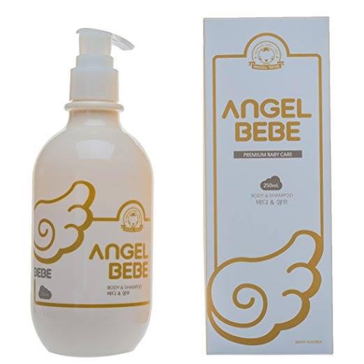 Sữa Tắm   Dầu Gội Cao Cấp Cho Bé ANGEL BEBE