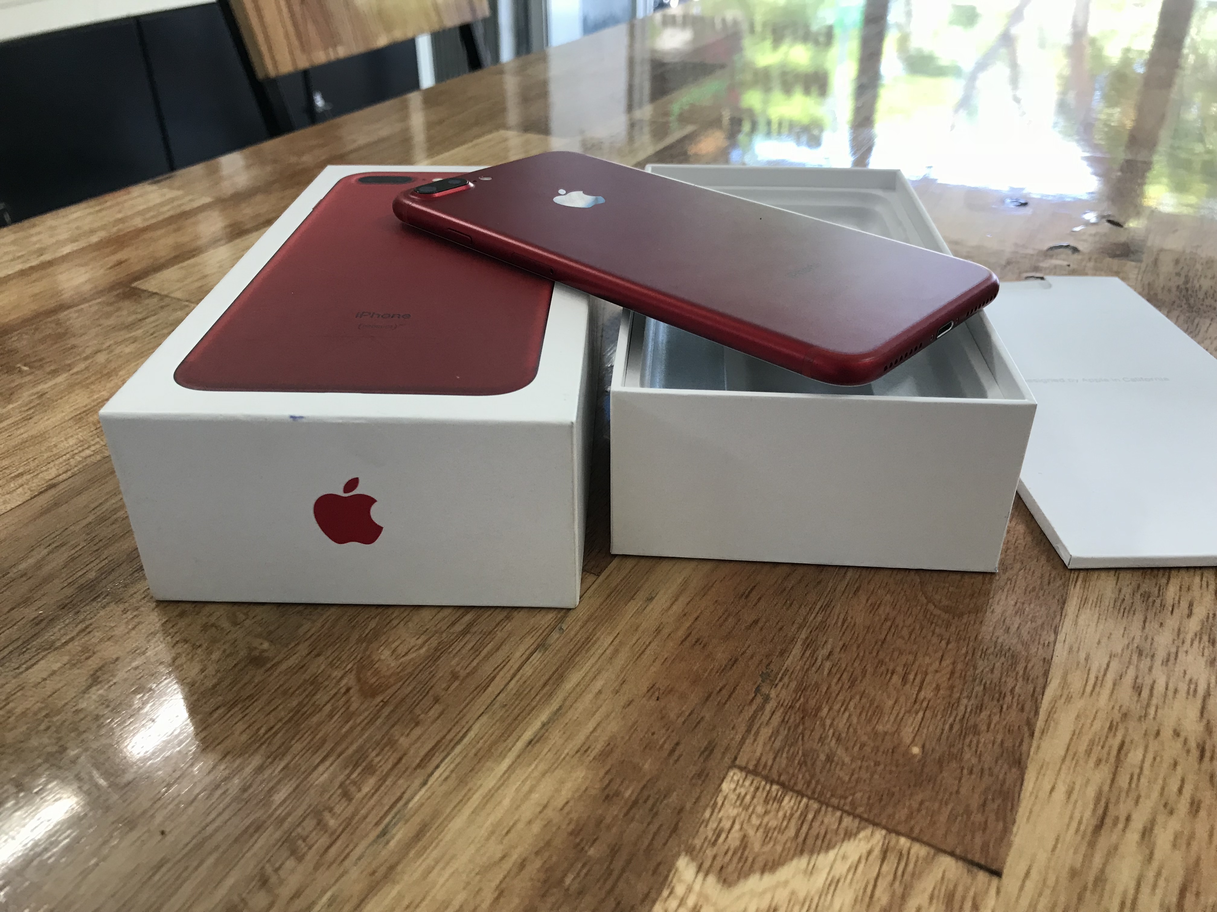 1 IPhone 7 plus 128gb Red vn/a tgdd hết Bh