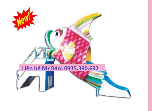 17 Cầu trượt liên hoàn đồ chơi mầm non cho bé rongbay.com