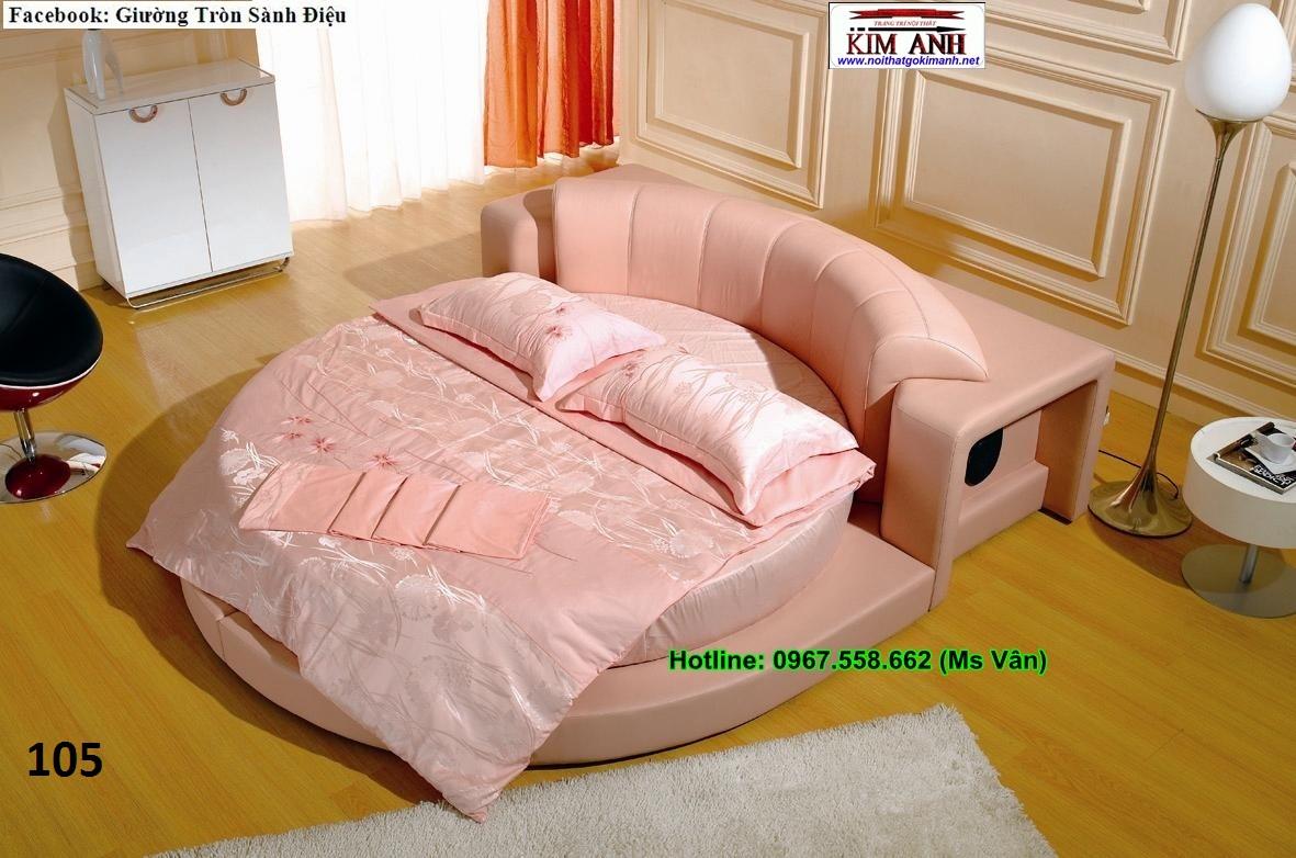 Xưởng chuyên đặt mới giường tròn rẻ đẹp sỉ lẻ giao hàng trên toàn quốc
