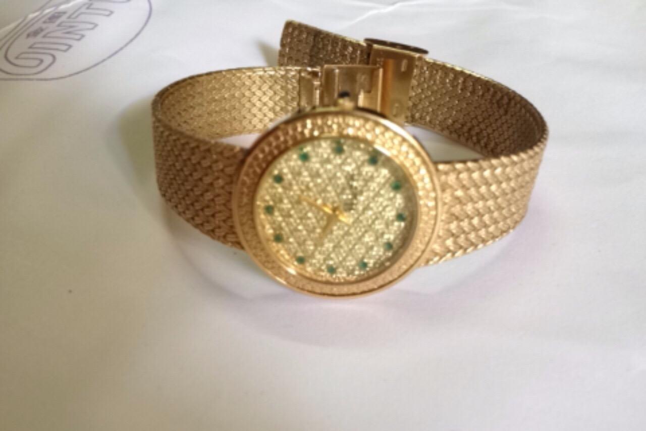 2 Đồng hồ Klaeuse mạ vàng máy Thuỵ Sỹ
