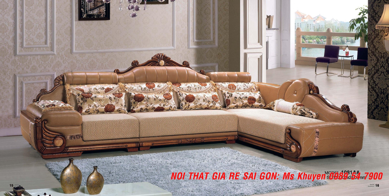 3 Sofa tân cổ điển