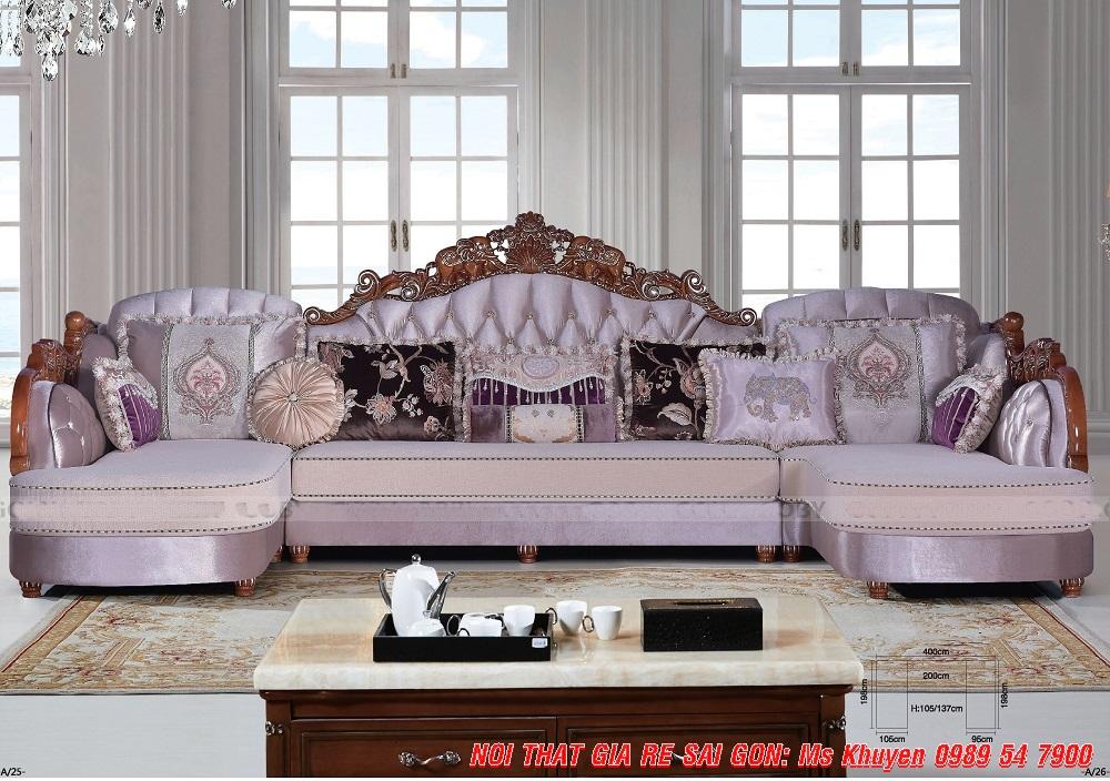 19 Sofa tân cổ điển