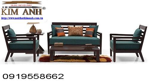 5 Sofa gỗ phòng khách. Sofa gỗ giá rẻ Vũng Tàu, Nha Trang