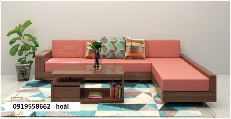 12 Sofa gỗ phòng khách. Sofa gỗ giá rẻ Vũng Tàu, Nha Trang